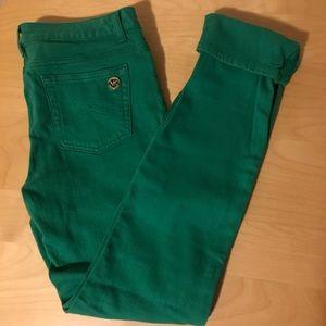 MICHAEL KORS green jeans